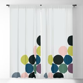 cluster || chill Blackout Curtain