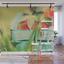 strawberry fields forever ... Wall Mural