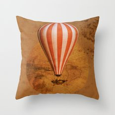 Bygone era Throw Pillow
