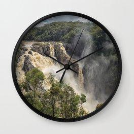 Beautiful Barron Falls Wall Clock