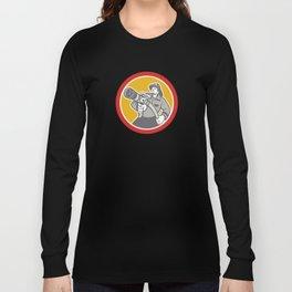 Fireman Firefighter Emergency Worker Long Sleeve T-shirt