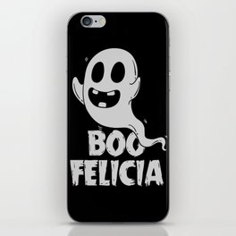 Ironic Rap Music HipHop Ghost Gift For Musicians iPhone Skin