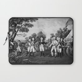 The Surrender of General Burgoyne Laptop Sleeve