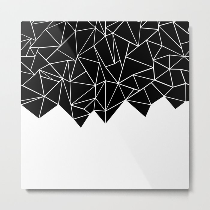 Ab Triangulation Metal Print