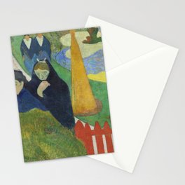 Mourners - Paul Gauguin Stationery Cards