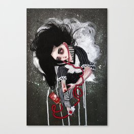 without a heartbeat Canvas Print