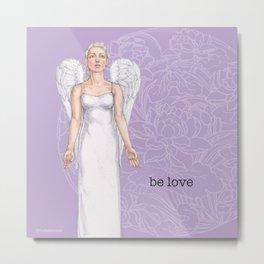 Be Love - Better Angels Series Metal Print