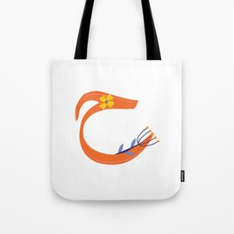 arabic letter monogram  haa ح Tote Bag