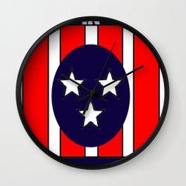 I believe in Memphis Wall Clock