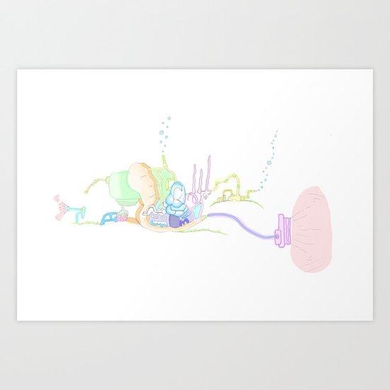 Funland 5 Art Print