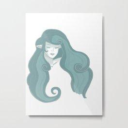 Nayru - The Goddess of Wisdom (no background) Metal Print