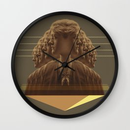 multitasking woman Wall Clock