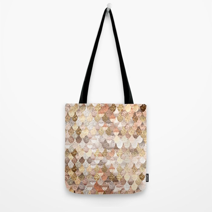 MERMAID GOLD Tote Bag