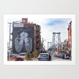 Williamsburg, Brooklyn Art Print