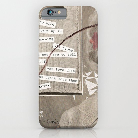 LOVE POEM iPhone & iPod Case