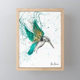 Kingfisher Skies Framed Mini Art Print