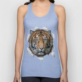 A wildlife, Bengal-tiger Unisex Tank Top