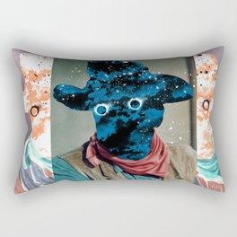 Space Cowboy Rectangular Pillow