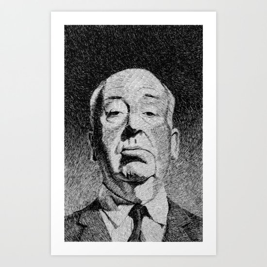 Fingerprint - Hitchcock Art Print