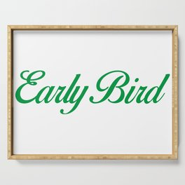 Early Bird Serving Tray
