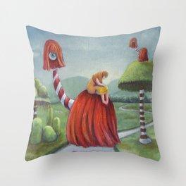 Mystic Voyage Throw Pillow
