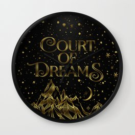 Court of Dreams Wall Clock