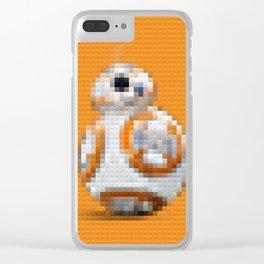 BB8 - Legobricks Clear iPhone Case