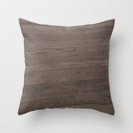 Dance Floor Wood Throw Pillow