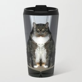 Sad Fat Cat Travel Mug