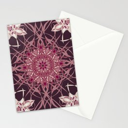 Colors of the Cherry Blossom Mosaic Stationery Cards