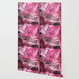 Pink Crystal Fractal Wallpaper