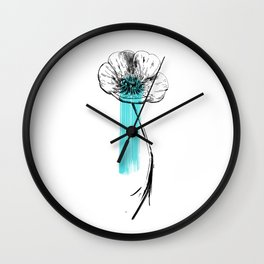 Bouton d'or Wall Clock