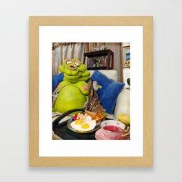 Chester: Spot of Tea Framed Art Print
