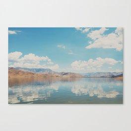 beautiful reflections ... Canvas Print