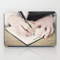 write iPad Cases featuring WRITE by Marte Stromme
