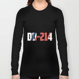 DD-214 soccer Long Sleeve T-shirt