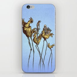 Dali Chocobos iPhone Skin