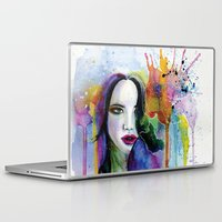 eternal sunshine of the spotless mind Laptop & iPad Skins featuring Eternal sunshine by YOUMEECHO  ILLUSTRATION STUDIO