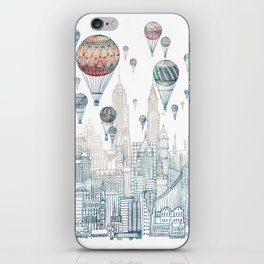 Voyages Over New York ~Refresh iPhone Skin