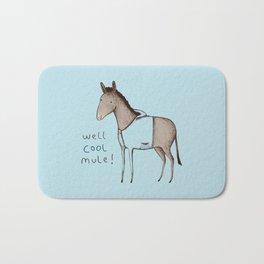 Well Cool Mule! Bath Mat