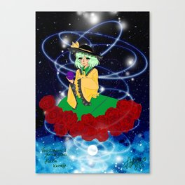 Koishi Komeiji - Touhou Project Canvas Print
