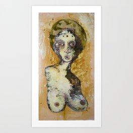 Patron Saint of Spring Time Love #2 Art Print