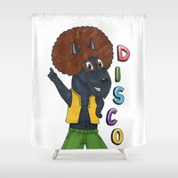 old school Shower Curtains featuring Old school by Lisidza's art