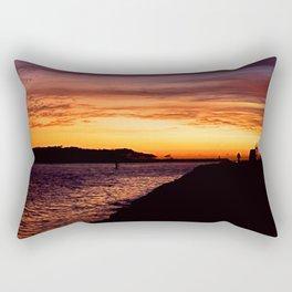 Gold Coast  Sunrise Rectangular Pillow