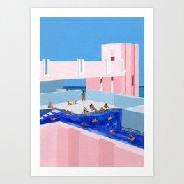 Spain Pool Kunstdrucke