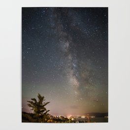 South Lake Tahoe Milky Way Poster