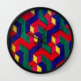 Pitter Patter(n) Wall Clock