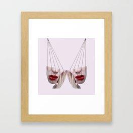 Seesaw Framed Art Print