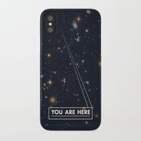 mike wrobel iPhone & iPod Cases featuring THE UNIVERSE - Space | Time | Stars | Galaxies | Science | Planets | Past | Love | Design by Mike Gottschalk