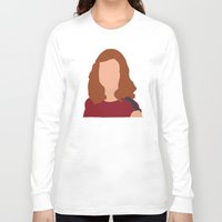 himym Long Sleeve T-shirts featuring Lily Aldrin HIMYM by Rosaura Grant